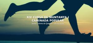 Cursa de muntanya i caminada popular Sant Coloma de Queralt 2020 @ Santa Coloma de Queralt