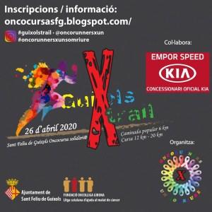 Guixols Trail Oncocursa Sant Feliu 2020 @ Sant Feliu de Guixols