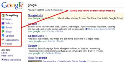 drawbacks of SSL google search