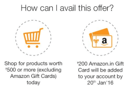 How to avail amazon free gift card