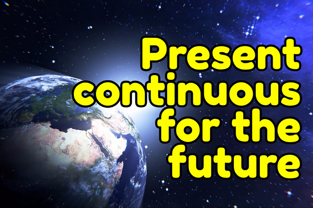 Present Continuous For Future Arrangements Espresso English