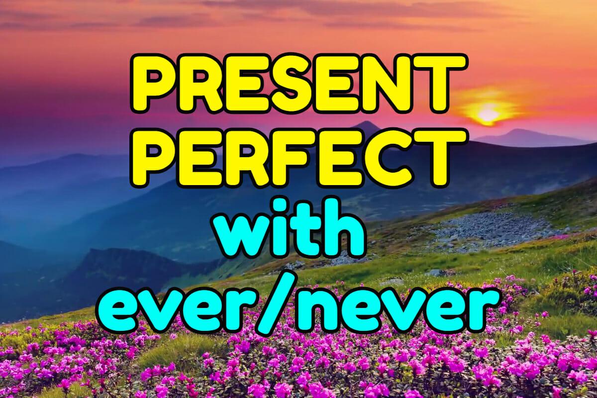 Grammar In Use Present Perfect Ever Never Espresso