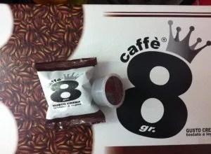 caffe 8 grammi lavazza espresso point
