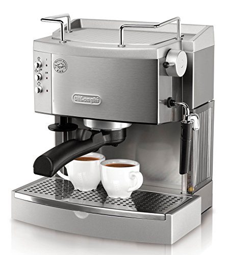 Best latte machine: DeLonghi EC702 15-Bar-Pump Espresso Maker Review