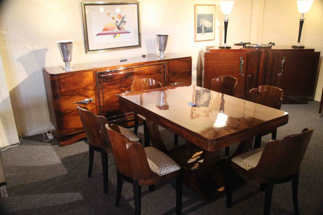 dining room art deco esprit