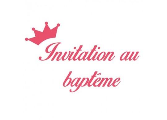 cartes d invitation au bapteme nos services articles de fete