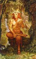 esprits de la nature - faunes, le dieu pan