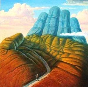 chemin vie-doigt de dieu