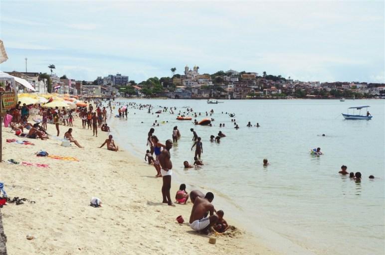 plage Salvador de Bahia