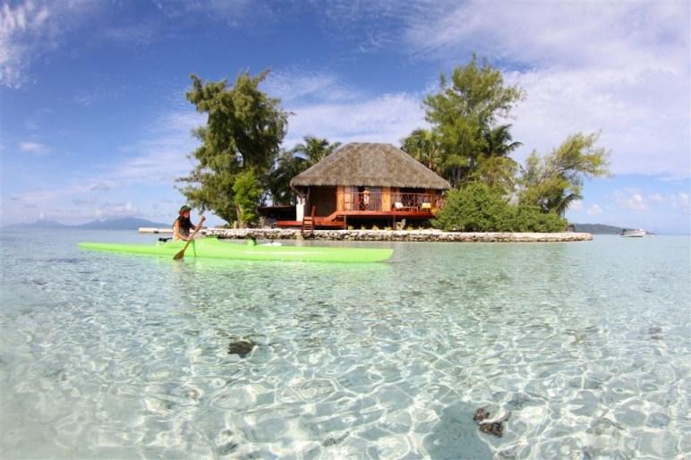 La Pirogue Api - Taha'a - Polynésie