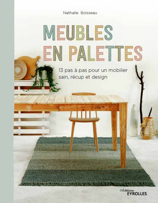 livre meubles en palettes esprit cabane
