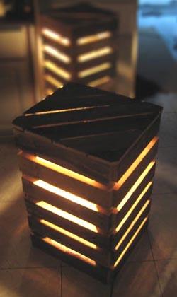 eco design luminaires et meubles en