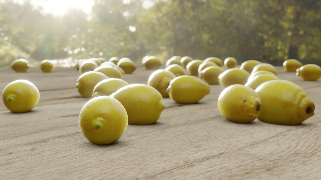Fruit Lemon Citrus Harvest  - alffarr / Pixabay