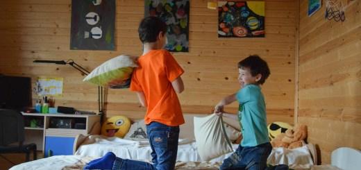 Kids Games Pillow Fight Family  - Victoria_Borodinova / Pixabay