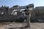 Afeganistão: Soldado da Nato em Kandahar, após mais um atentado no dia de Natal de 2009