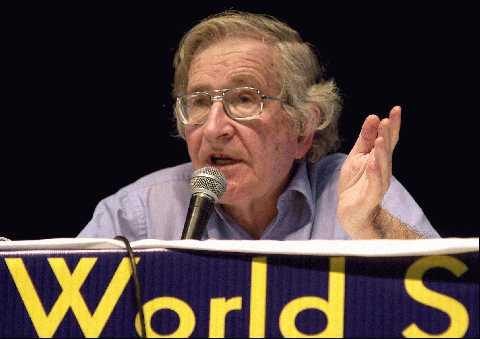 Noam Chomsky no Fórum Social Mundial - 2003