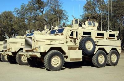 Blindados anti-minas, Cougar HE, usados na guerra do Iraque – Foto wikipedia
