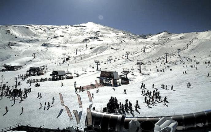 Webcam Sierra Nevada 17 de marzo
