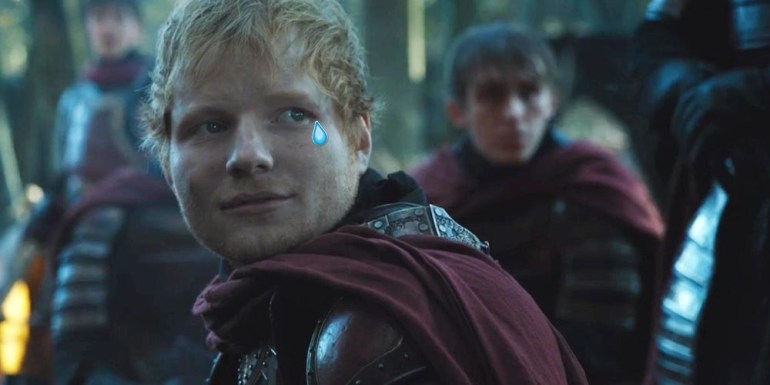Ed Sheeran borra su Twitter tras las críticas de su cameo en Game of Thrones