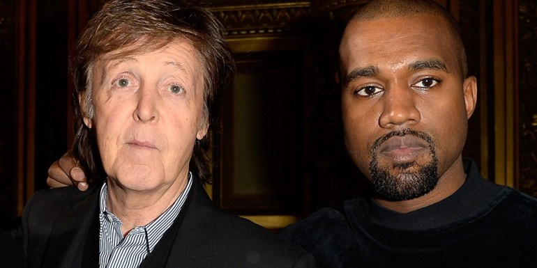 Paul McCartney compara la técnica de Kanye West con la de The Beatles