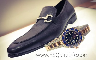 The Right Watch with The Right Shoes