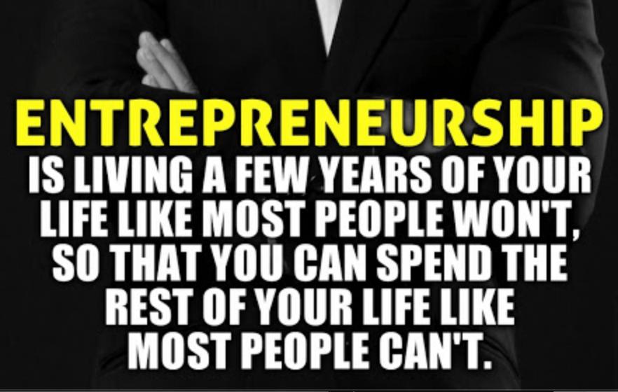 You're Not an Entrepreneur