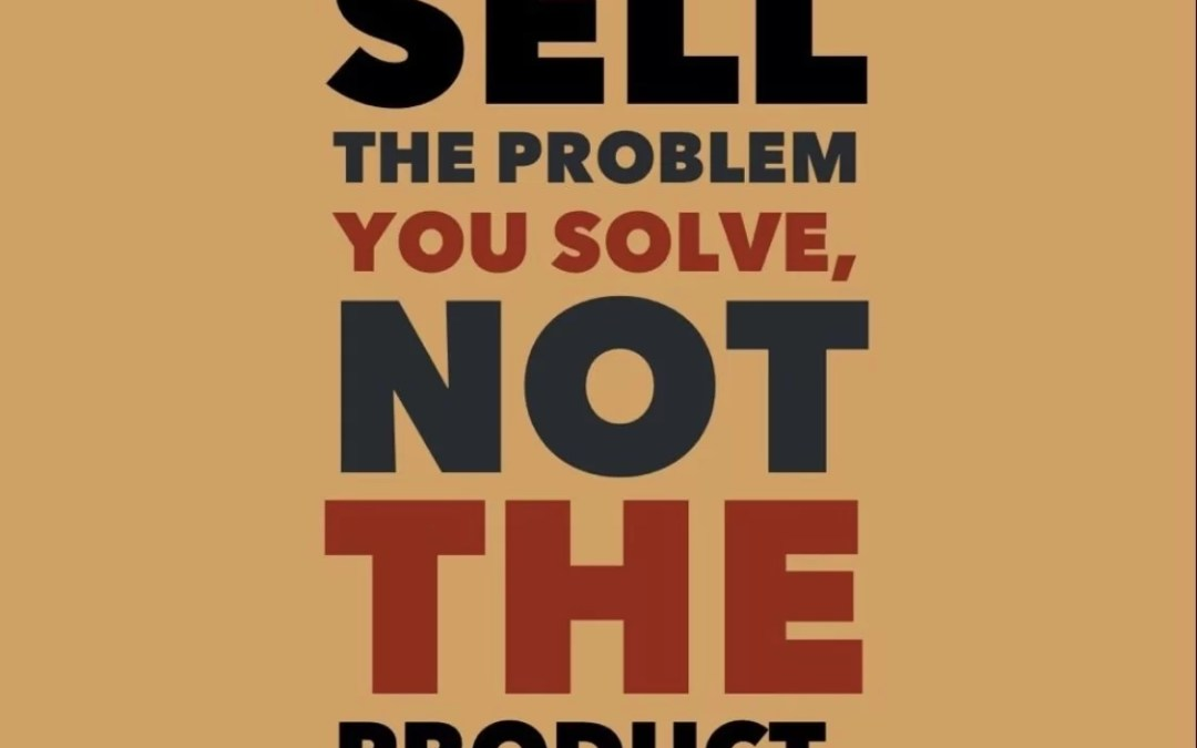 Sales is the Problem