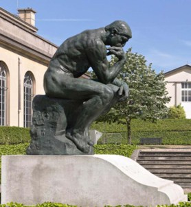 Rodin's 'The Thinker' sculpture is now in Abu Dhabi - Esquire ...