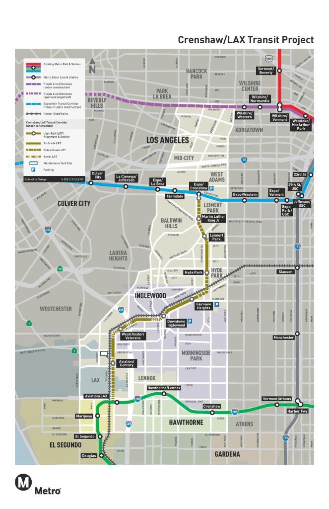 Metro Crenshaw LAX Line #2