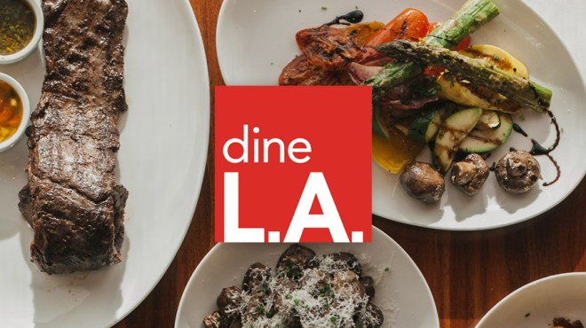 Dine LA Restaurant Week 2019