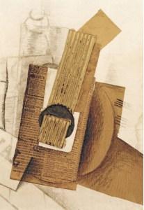 Georges Braque, La Mandoline, 1914, Ulmer Museum, Allemagne