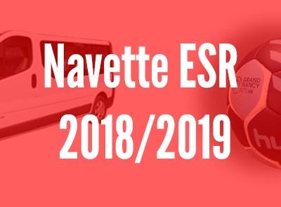 Navette ESR 2018/2019