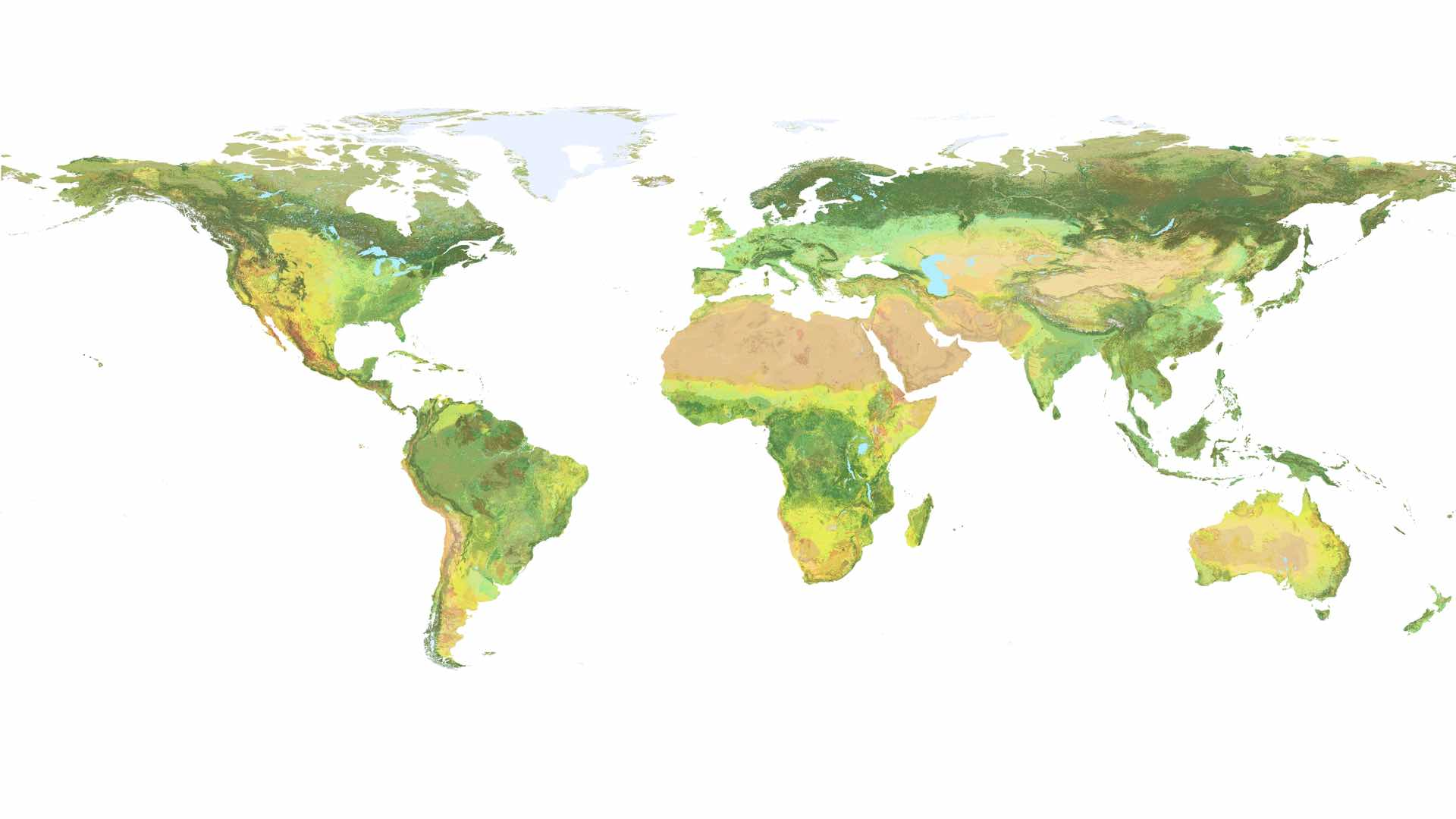 Mapping The World S Ecosystems