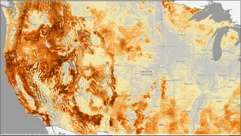 Strong winds are only making conditions worse. Wildfire Hazard Potential Enriched With Demographics Now In Arcgis Living Atlas