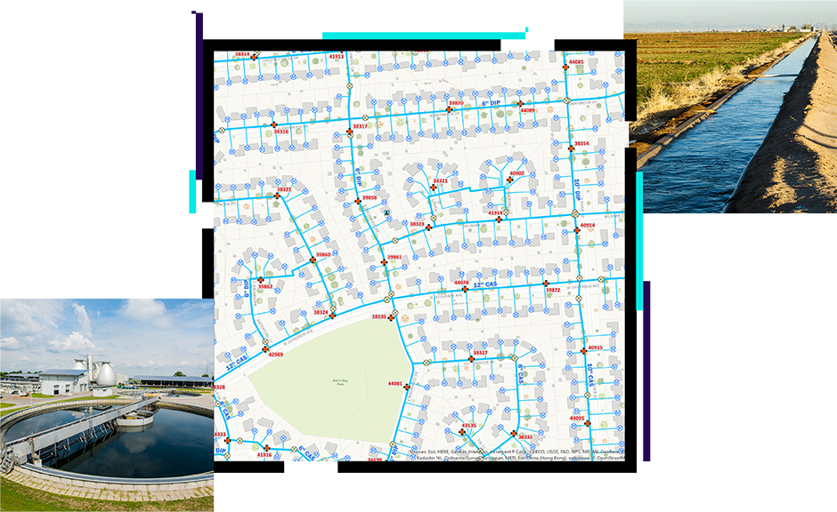Is water a living thing? Gis For Water Utilities Smart Water Solutions For Water Management