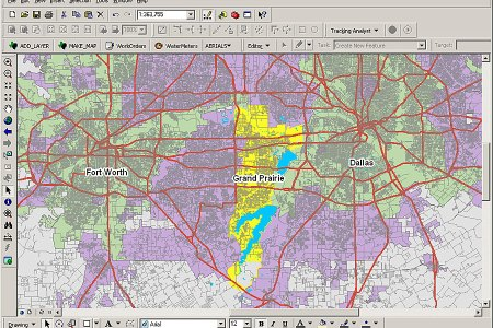 Beautiful Grand Prairie Downtown Map Images - Map Informations ...