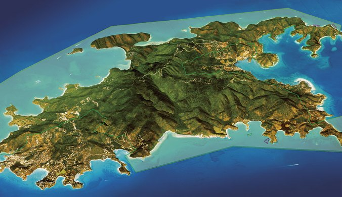 Image result for geological map of the virgin islands
