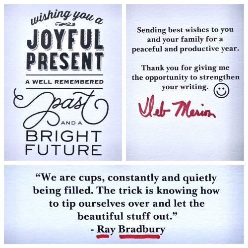 A Happy Graduation Card, a Haiku*, and Neil Gaiman's Commencement Speech
