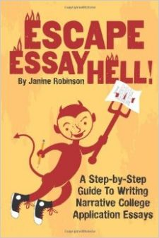 how to write an essay for university application