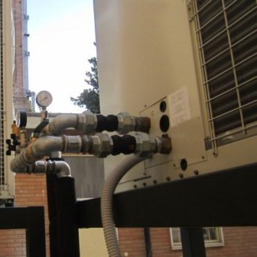 Collegamenti impianto climatizzazione e trattamento aria