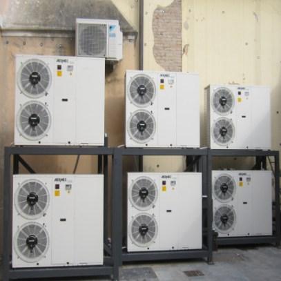 Impianto di climatizzazione e trattamento aria