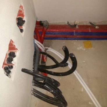collegamenti elettrici e idraulici