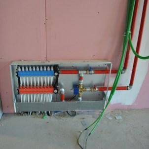 collettore impianto di riscaldamento