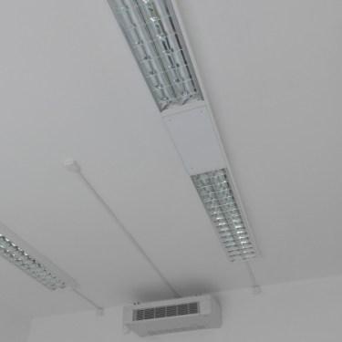 condizionatore, illuminazione industriale