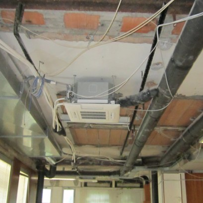 split aria condizionata a soffitto