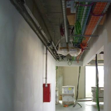 Distribuzione elettrica impianto antincendio