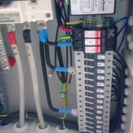 impianto fotovoltaico collegamento elettrico