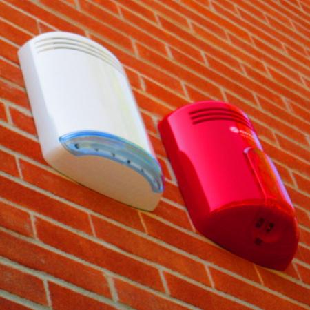 sirene esterne impianto antincendio e antintrusione