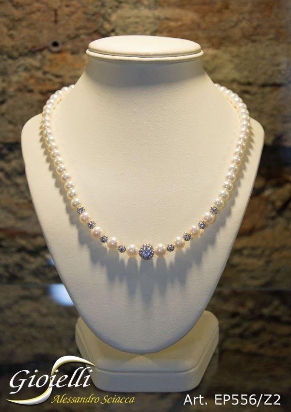 EP556Z2 - Girocollo in perle naturali