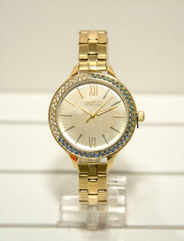 Orologio donna solo tempo con ghiera zirconata 44L154